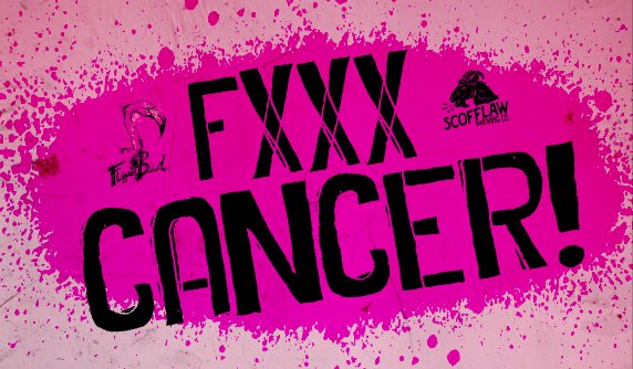 FXXX CANCER flippin bird and scofflaw